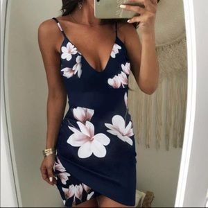 Sexy Summer Floral Mini Bodycon Bandage Club Dress